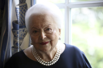 Olivia de Havilland, pictured in 2016.
