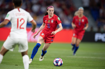 Rose Lavelle has been a revelation for the US in the World Cup.