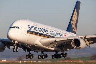 Singapore Airlines has continued flying to Australia during the pandemic.