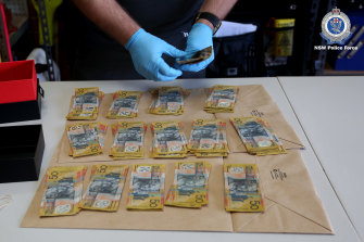 Police seized cash at premises owned by the Ter Wisscha family.