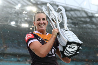 The Broncos took out their third NRLW title after beating the Roosters 20-10 in the decider on Sunday afternoon.