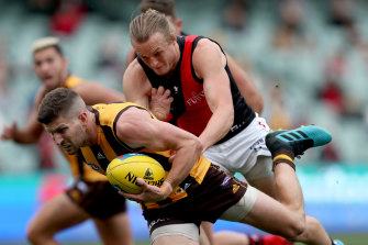 Essendon's request to have their round one clash against the Hawks moved to the MCG so more fans could watch was on Monday rejected by the AFL.