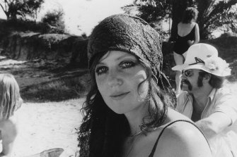 Wendy at the beach, 1971.