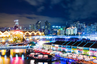 Singapore has a sanitised image of a law-abiding place, but it has a seedy underbelly too.