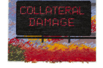 Collateral Damage part of Hamer's series 'Relax, We're Doing Great'