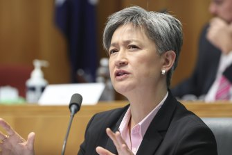 Penny Wong says an Albanese Labor government would build a fairer society, a stronger nation and a better world.