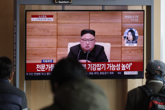 Kim had entered the New Year vowing to bolster his nuclear deterrent.