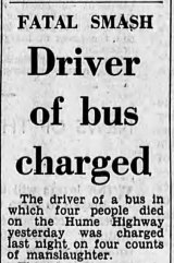 June 1966: a fatal bus crash on the Hume Highway kept the young Barrie Cassidy, working as a telephone exchange operator in Chiltern, north-east Victoria, awake all night before an exam.