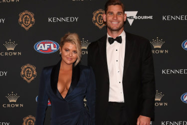 Brownlow red carpet: Change in mood as players and partners strut their stuff