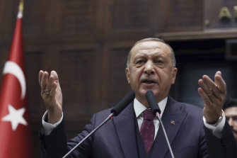 Turkish President Recep Tayyip Erdogan says the US is not fulfilling their part of the bargain.