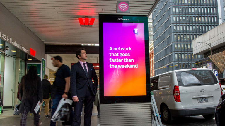 Cr Nicholas Reece who says Telstra is abusing the loophole for profit.