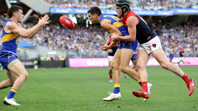 Melbourne were too good for West Coast just four weeks ago at Optus Stadium.