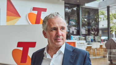 Telstra CEO Andy Penn