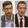 Zuckerberg, Pichai, Dorsey scheduled for new grilling in US Congress