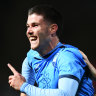 Sydney FC thrash Adelaide United to make move on home semi-final