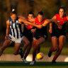 Melbourne Demons end North's winning run