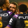 Storm scramble past Dragons as Smith sets new milestone