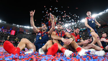 The Demons are hoping for the grand final rematch to be played in round one on Friday night next year.