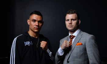 Tim Tszyu and Jeff Horn were due to fight in Townsville in late April.
