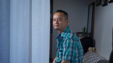 Tenzin Laktso says public housing has made a huge difference to his life.