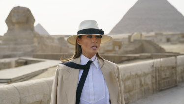 The clothes Melania Trump wore on her African tour were very Jane pre-Tarzan.
