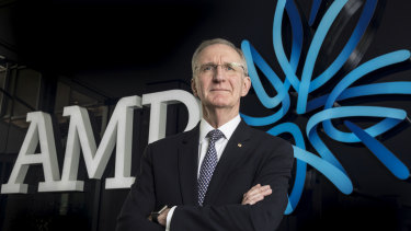 AMP acting CEO Mike Wilkins.