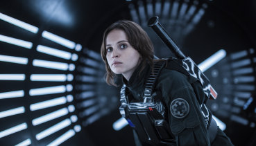 Felicity Jones in Rogue One: A Star Wars Story.,