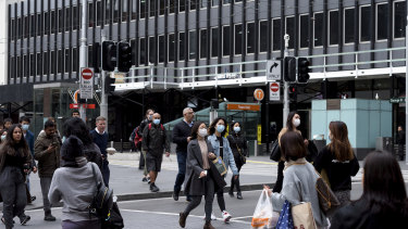 The NSW government is urging people to wear masks in public places.