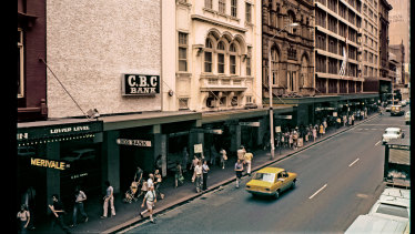 The Sydney City Tattersalls club around the late 1970s.
