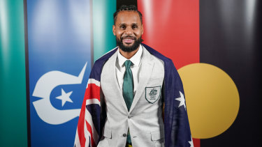 Australian basketball player Patty Mills paid tribute to his proud Indigenous heritage.