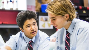 Cranbrook students can already study IB primary and middle years courses. Now the school wants to offer the diploma as an alternative to the HSC.