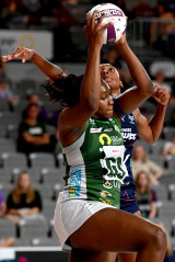 Fever's Jhaniele Fowler scored the after-the-buzzer goal for the draw.