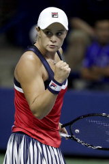 Ash Barty has taken much of the pressure from Stosur's shoulders.