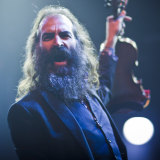 Warren Ellis with The Dirty Three at Meredith Festival.