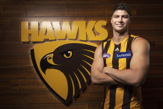 Afl Trades 2019 Traded Gws Giant Jonathon Patton Feels Right At Home With Hawthorn