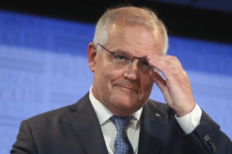 Prime Minister Scott Morrison is eyeing a more ambitious climate change target.