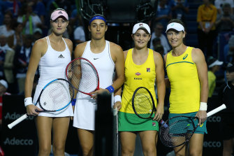 France and Australia played in last year's Fed Cup finals. Qualifiers have been postponed due to coronavirus.