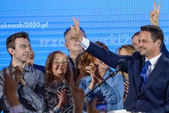 Warsaw mayor Rafal Trzaskowski has emerged as a strong opponent to President Duda.