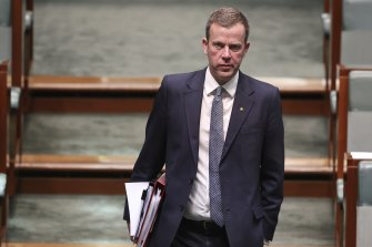 Federal Education Minister Dan Tehan said Victoria had asked for more time to complete its international student plan.