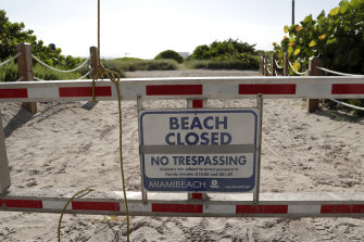 Beaches across South Florida are closed over the Fourth of July weekend.