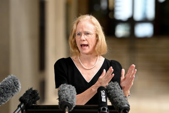 Queensland Chief Health Officer Jeannette Young took on Scott Morrison and AstraZeneca.