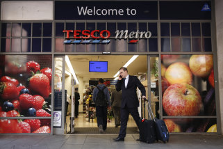Tesco is one of the UK's largest supermarket chains.