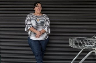 Joanne Dehler works as a supermarket cashier in Melbourne's west.