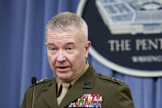 """I'm not going to kid you and say it's going to be easy,"" General Kenneth McKenzie admitted."