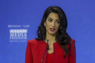 Human rights lawyer Amal Clooney said a guilty verdict in Maria Ressa's case would carry a very clear message: 'keep quiet'.