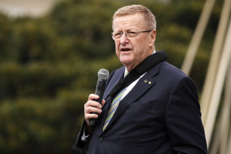 "AOC president and IOC vice-president John Coates says plans for the Tokyo Games are ""proceeding fully""."