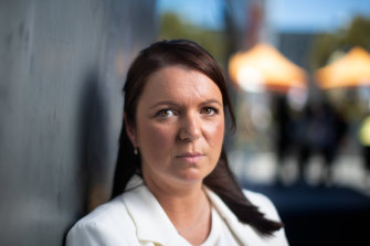 Geraldine Bilston left an abusive relationship about five years ago.