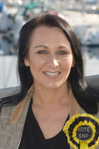 SNP candidate Siobhian Brown, who grew up in Australia.