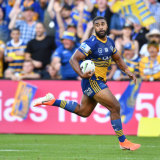 Two more years ... Michael Jennings attracted late interest from Dogs before re-committing to Parra.