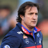 Bulldogs' ruck strategy to stay unchanged after Collingwood blowout